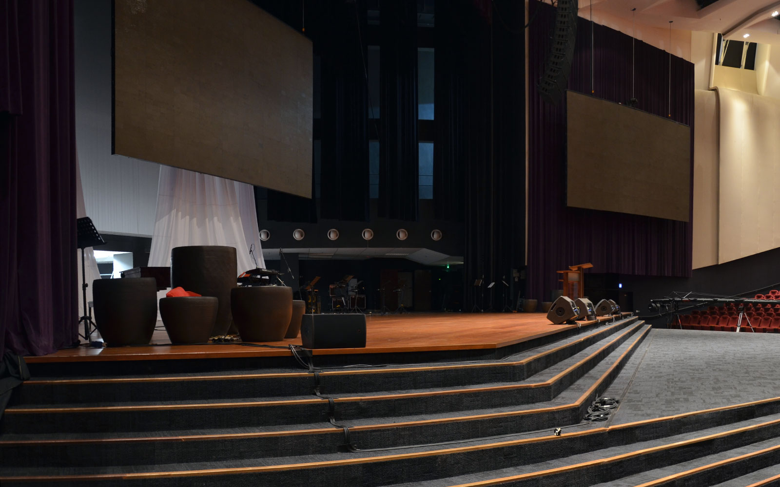 Image one for Calvary auditorium stage