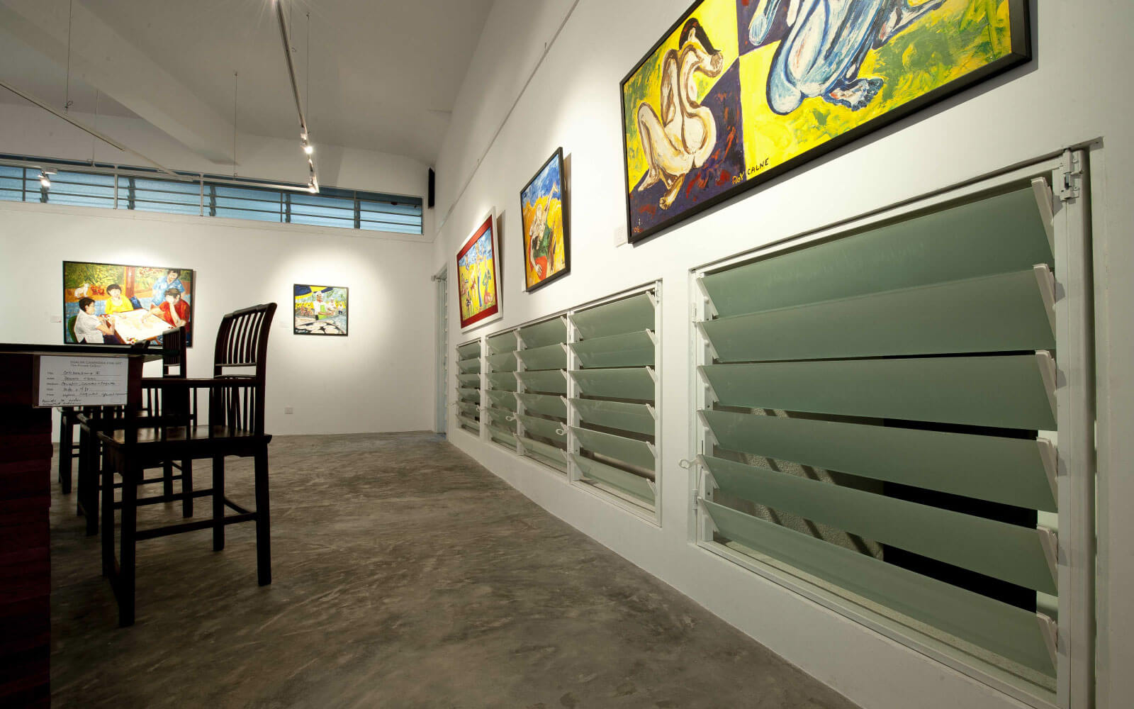 Image 3 for Ganendra Art house glass louvers and Green architect features