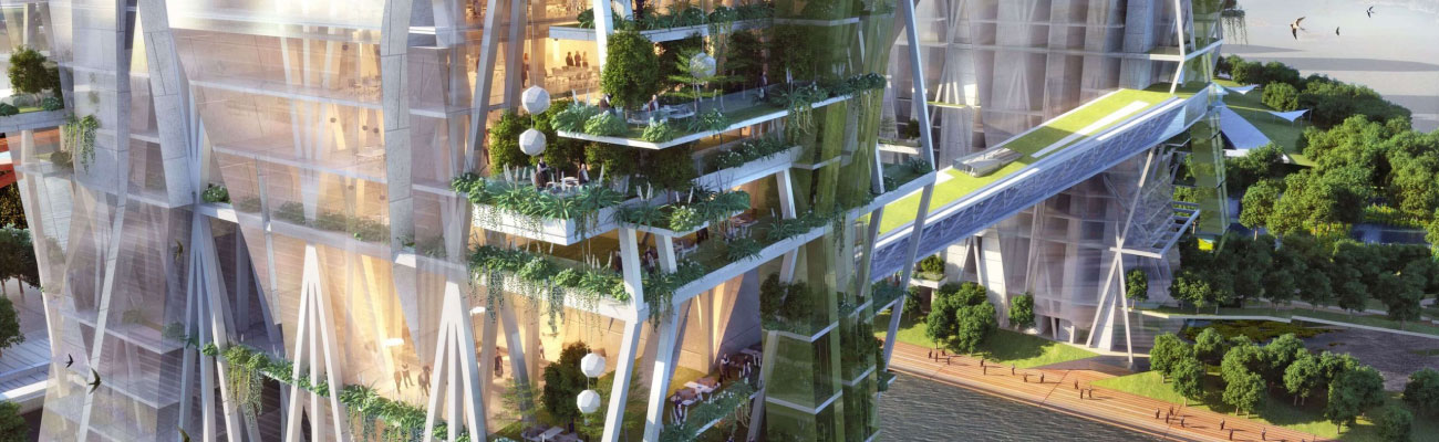 green archictect tower bridge project for long hu