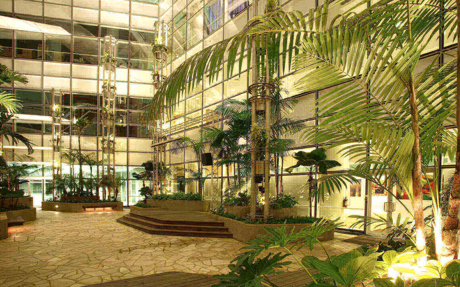green architect visual facilities design for