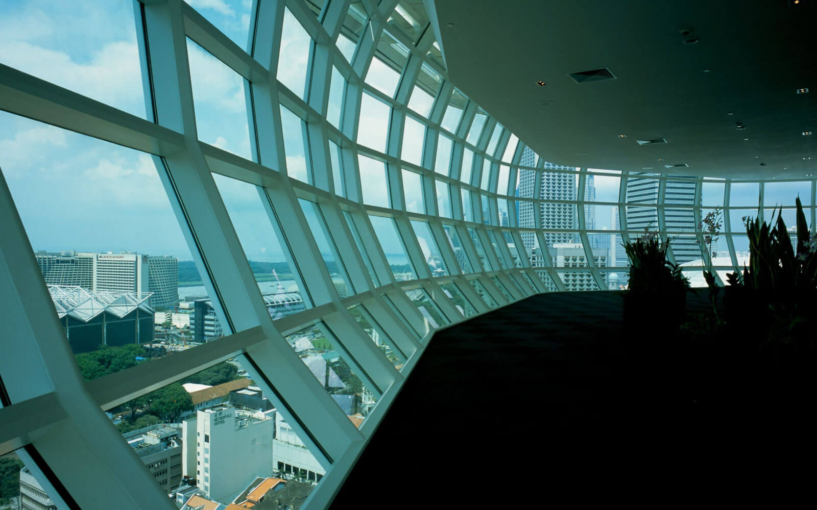 ecological architect features light sensors for National Library Singapore