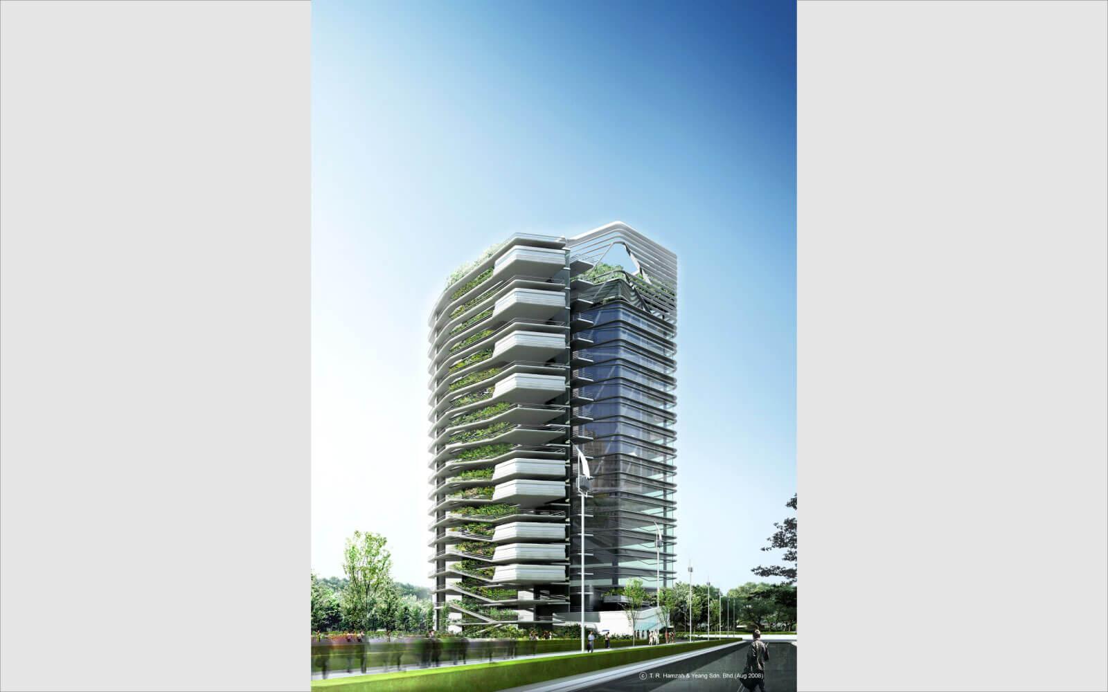 Image 3 of Spire Edge full green architect catalouge