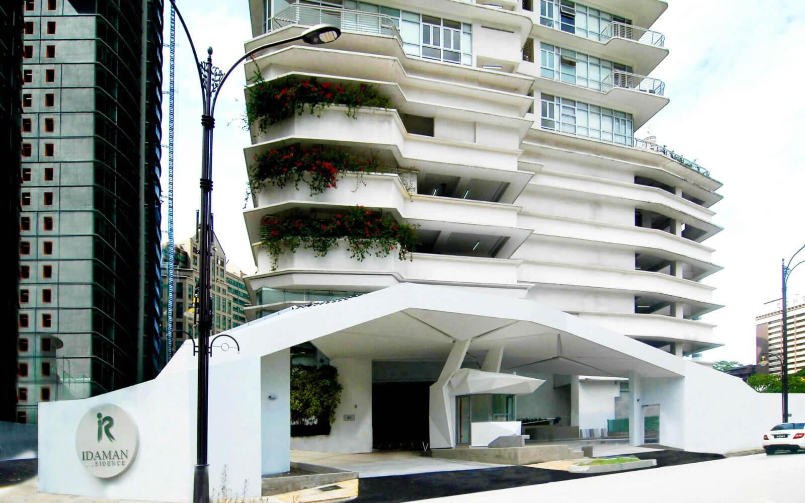 ecological architect design for Idam residence canopyy